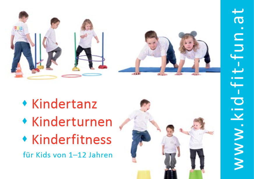 Kid-Fit-Fun® Postkarte