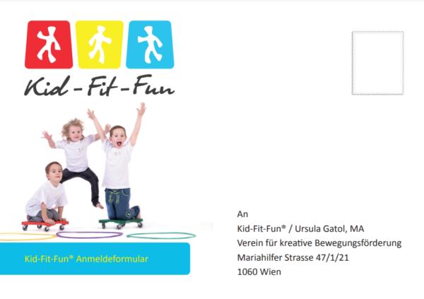 Kid-Fit-Fun® Anmeldekarte 2021/22